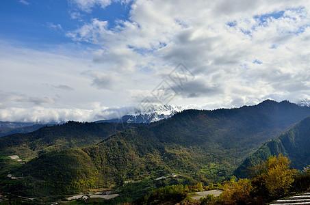 云中神山图片