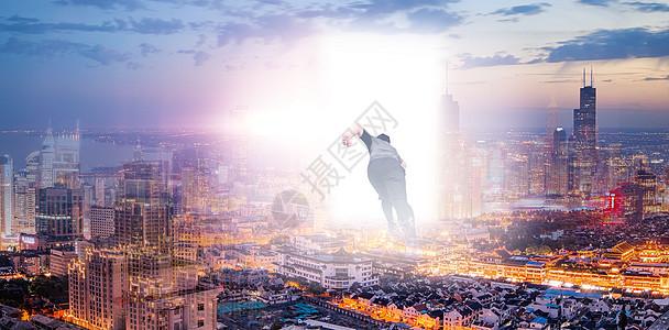 走向光明的城市图片