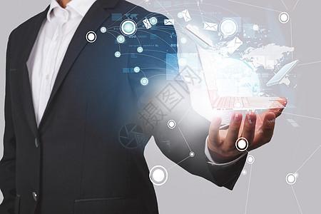 商务科技与电脑图片
