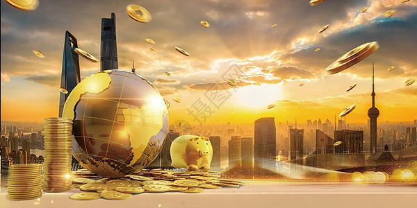 建筑与金融图片