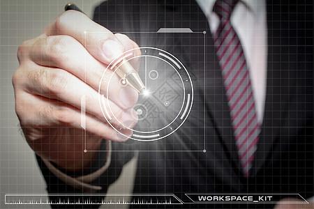 商务点击科技图图片