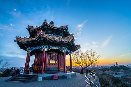 北京景山公园图片
