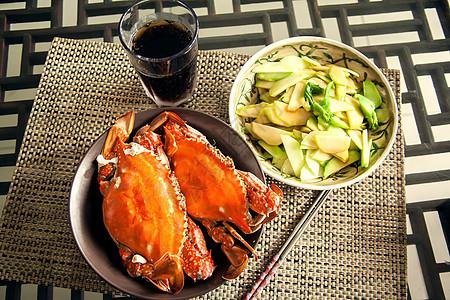 美食梭子蟹图片