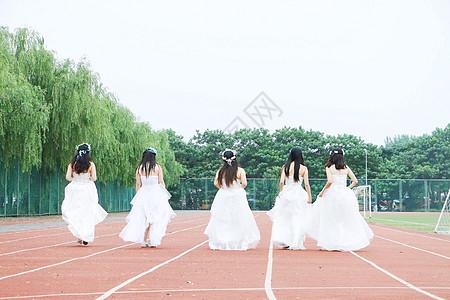 毕业婚纱照图片
