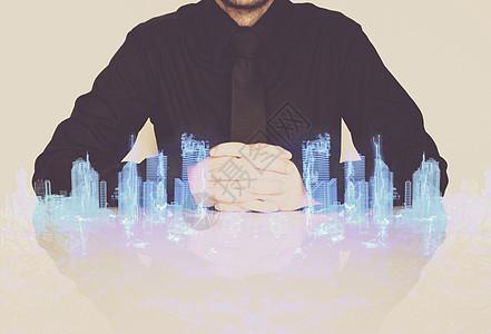 科技立体建筑楼图片
