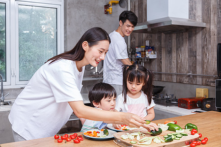 家庭亲子厨艺图片