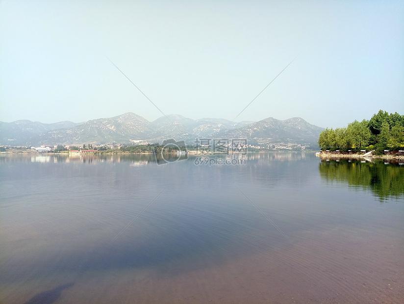 莱芜雪野湖图片