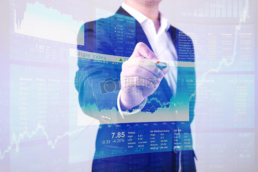 商务金融数据分析图片