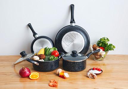 餐具锅具产品摄影图片