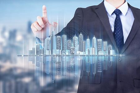 商务促进城市发展图片