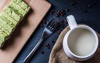 牛奶蛋糕下午茶图片