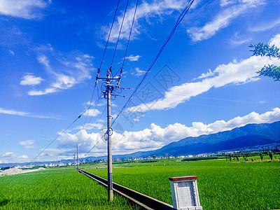 云南大理的蓝天白云图片