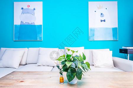 文艺清新又有家的温馨的房子图片