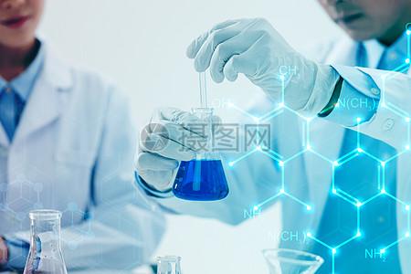 医疗科技分子图图片