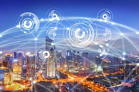 大数据覆盖地球图片