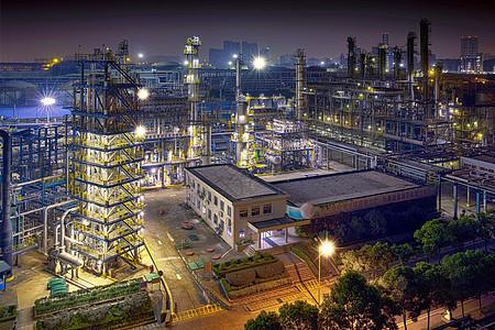 工厂规划布局夜景图片