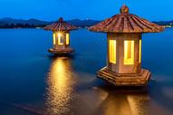 翠光亭之夜图片