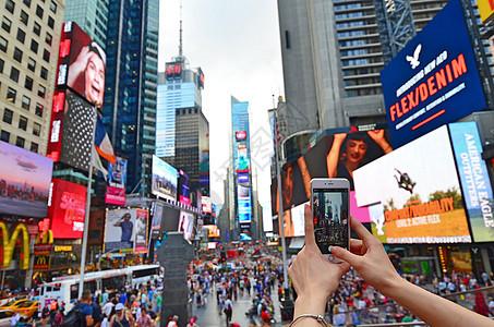 美国纽约时代广场图片