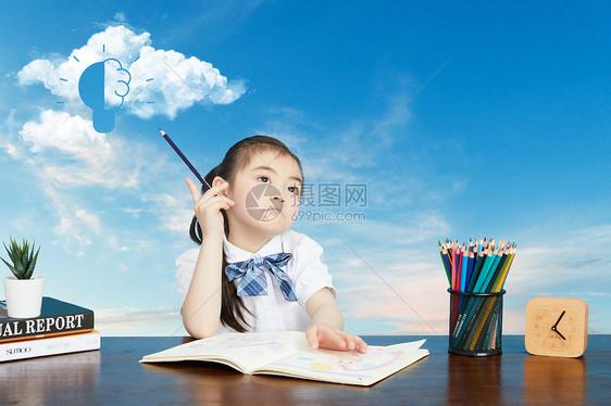儿童的发散思维想象图片