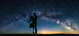 观看星空图片