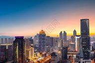 北京国贸CBD中心商务区美景图片