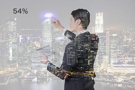商务城市金融科技图片
