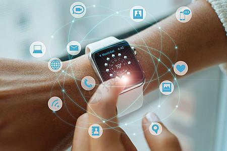 科技手表通信图片