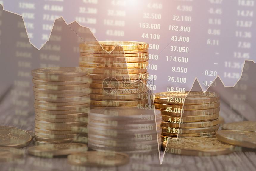 金融升与降图片