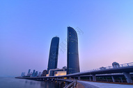 厦门海边建筑风光图片