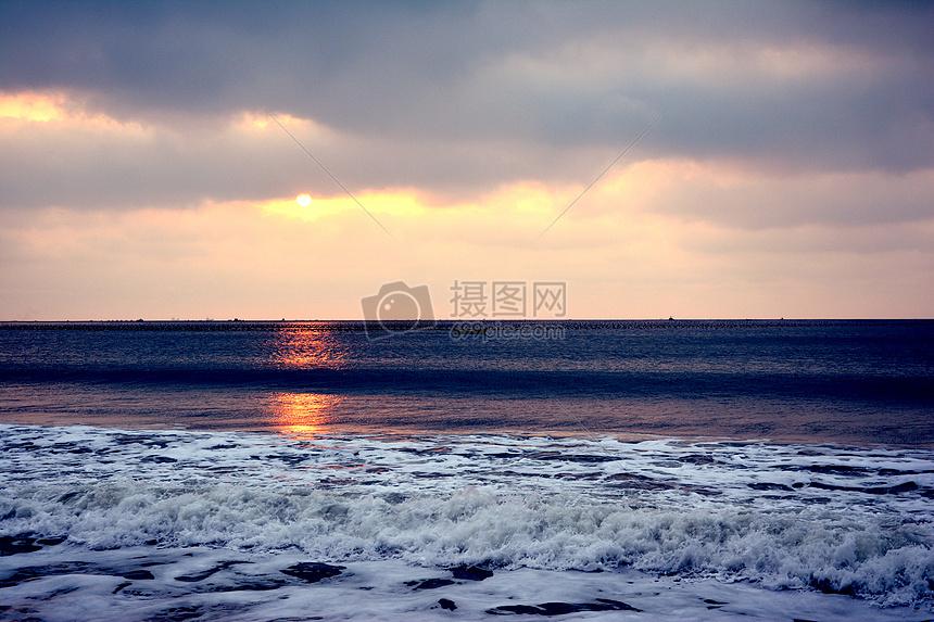 威海的海图片