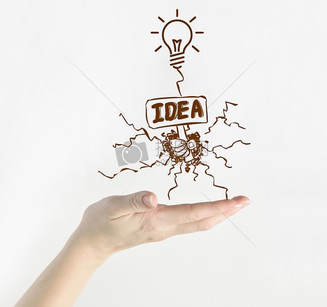 灯泡创意设计图片