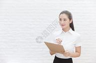 商业行政美女前台检查记录图片