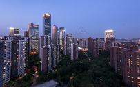 北京望京CBD绿地中心楼群图片