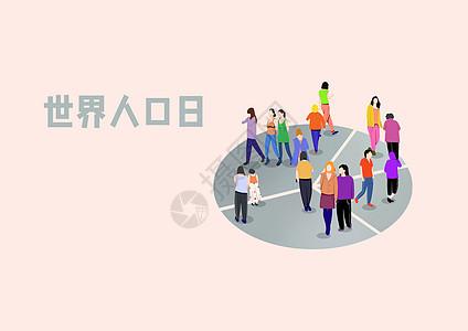 世界人口日图片