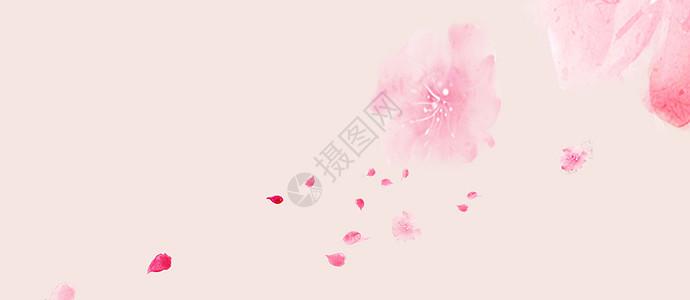唯美桃花背景图片