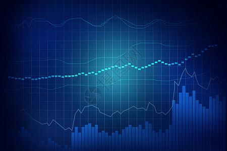 股市金融走势背景图图片