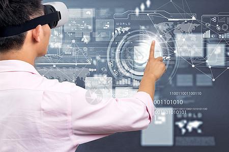 VR眼镜点击数据图片