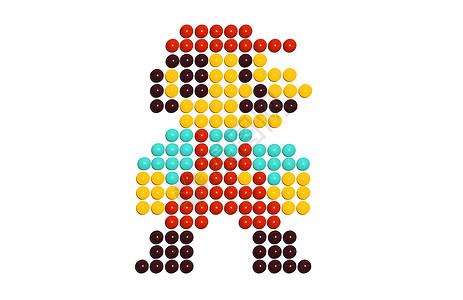 彩虹糖超级玛丽图片