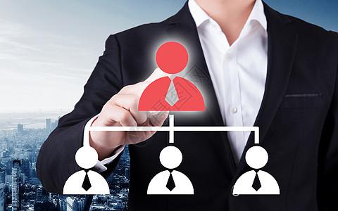 商家触摸红色的联系人图标图片