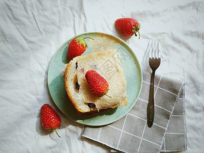早餐切片烘焙图片