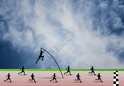 跑道概念图图片