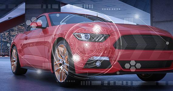 超级跑车背景图片