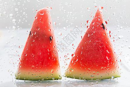 冰爽夏日水果西瓜图片