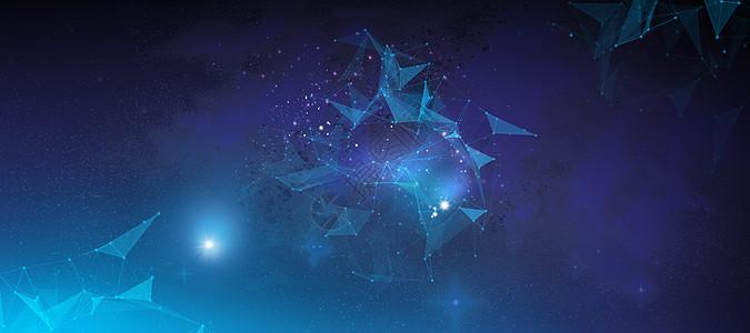 星空几何图片