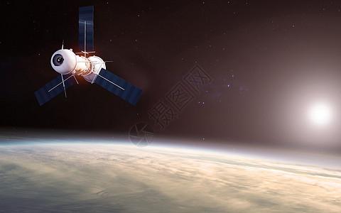 航天飞行图片
