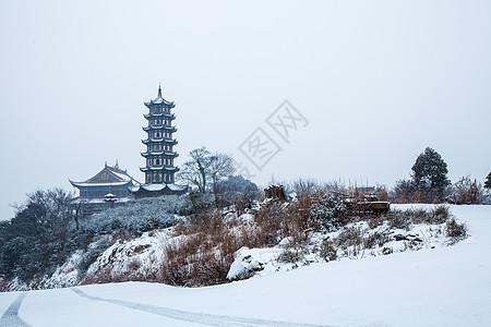 湘湖冬景图片