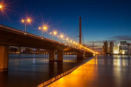 钱塘江夜景图片