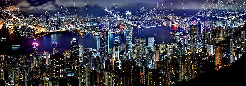 夜景与科技图片
