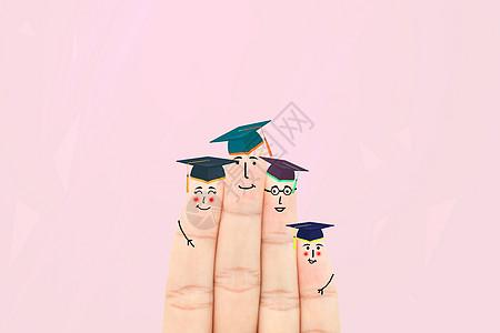 创意手指画图片