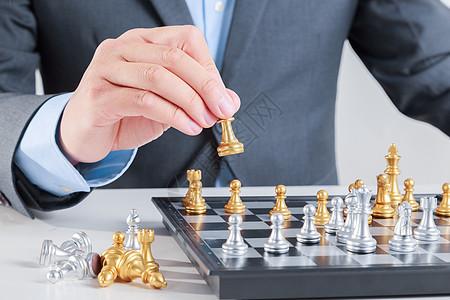 下国际象棋图片